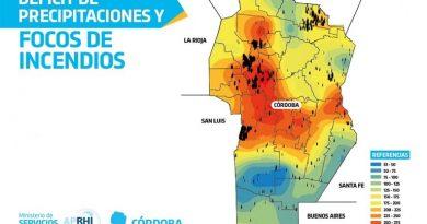 Dèficit histórico de precipitaciones en la provincia de Córdoba