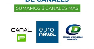 Coonet agregó tres nuevos canales a la grilla de televisión