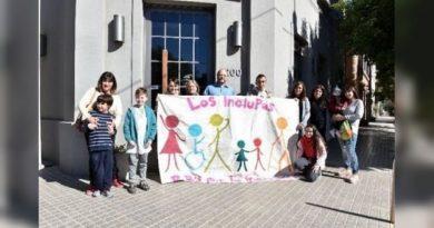 """Padres por la inclusión """"Inclupas"""" remarcaron que """"el mundo es uno sólo para todos"""""""