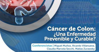 """Atilra invita a charla virtual sobre """"Cáncer de Colon, una enfermedad prevenible y curable"""""""