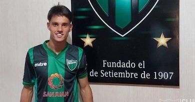 Nellen firmó su primer contrato profesional con Atlético San Martín