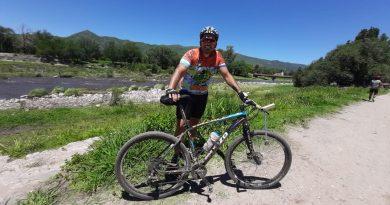 Matias Astrada corrió el Rally MTB Desafío Río Cosquín