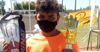 Jerónimo Ardusso campeón en la batalla de arqueros en Las Varillas