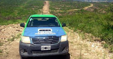 Policía Ambiental frenó un loteo en la localidad de Villa Santa Cruz del Lago