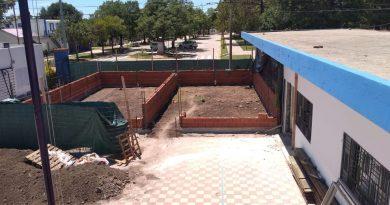 Fundación San Jorge: Avanza la construcción de dos nuevas aulas en el edificio Ejército de los Andes