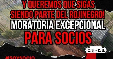 Centro Social lanzó una Moratoria para Socios que adeudan cuotas