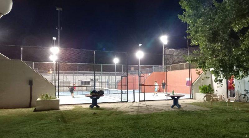 Continúan las mejoras en las canchas de padel de Club San Jorge