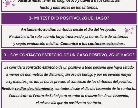 Municipio de Porteña difundió su nuevo protocolo Covid-19