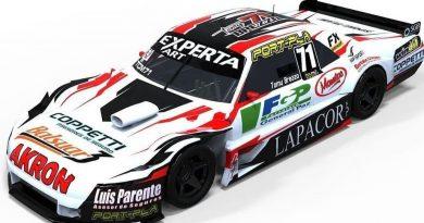 Tomy Brezzo presentó el auto con el correrá en el TC Mouras 2021