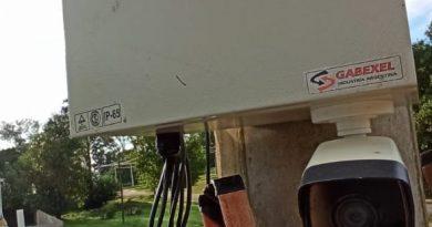 Seeber incorporó cámaras de seguridad