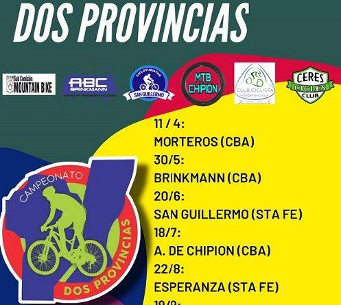 En abril vuelve el Campeonato de Mountain Bike – El 30 de mayo en Brinkmann