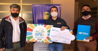 Brinkmann: Entregaron aportes del Programa BPA's