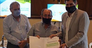 San Justo: 334 productores recibieron $16 millones por Buenas Prácticas en Balnearia y Freyre