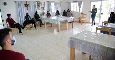 Morteros: Agentes del Ministerio de Salud capacitaron a personal de Centro Operativo Covid