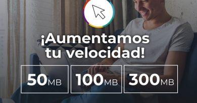 CoopBrinkmann aumentó las velocidades de internet