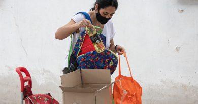 Paicor: junto con los módulos alimentarios se entregarán kits de barbijos