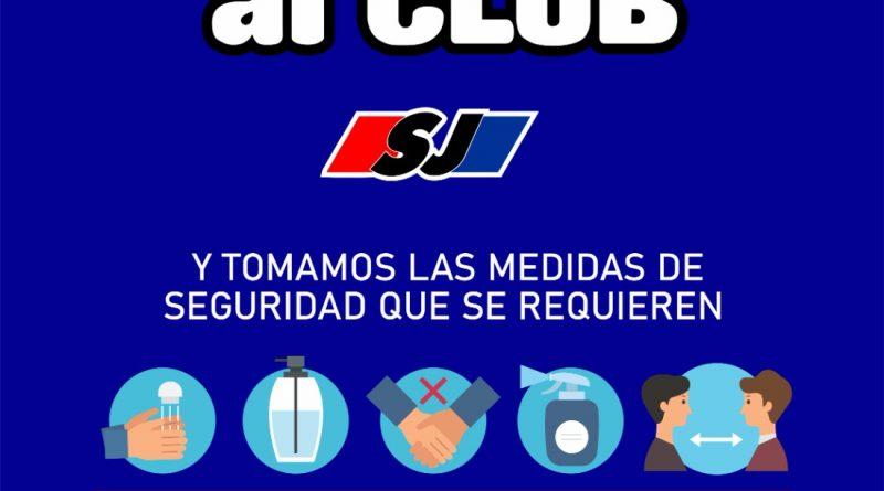 San Jorge anunció que este lunes vuelven al club