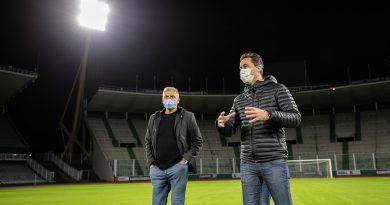 Con nuevo sistema lumínico, el Kempes ya brilla para la Copa América