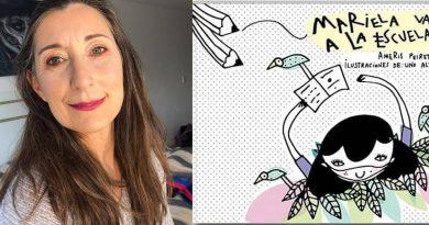 """Ameris Peiretti presenta su libro """"Mariela, va a la Escuela"""""""