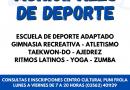Inscripciones abiertas para cursos municipales de deporte