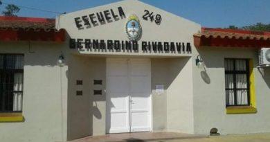 Morteros: Piden la suspensión temporal de la presencialidad en la Escuela Rivadavia