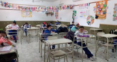 🔊 – Alto regreso a la presencialidad en las escuelas de Brinkmann