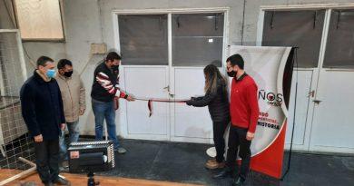 🔊 – Centro Social inauguró vestuario y buffet en el Polideportivo