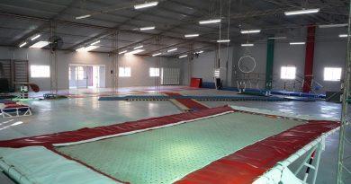 Remodelación y puesta en valor del gimnasio Daniel Turelli de Tiro Federal