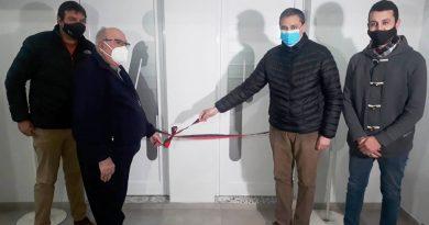 Centro Social inauguró nuevos sanitarios del salón de fiestas y eventos