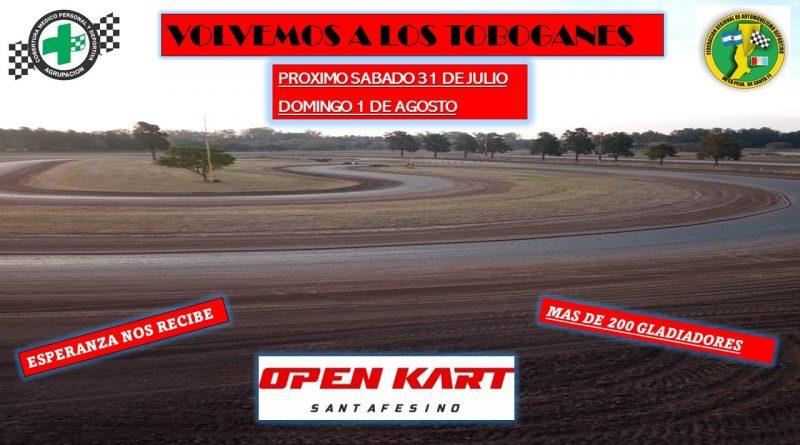 En Esperanza vuelve el Open Kart Santafesino con presencia de brinkmanenses
