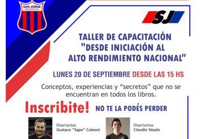 Ultimos días para inscribirse al Taller con «Sapo» Coleoni y Claudio Vasallo