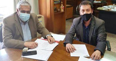 El Intendente Carlos Baigorria se reunió con el Titular de PAMI Córdoba, Rubén Ovelar