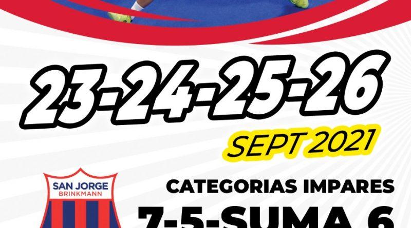 Se viene Torneo de Padel en San Jorge