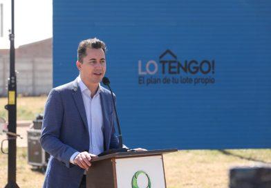 Manuel Calvo llega este lunes para inaugurar 10 «Viviendas Semillas»