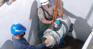 CoopBrinkmann instaló un caudalímetro en el tanque de agua