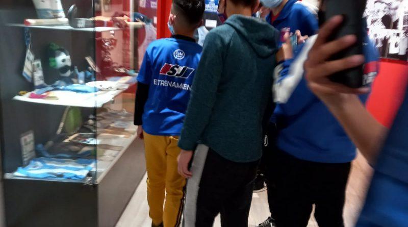 Chicos de San Jorge visitaron el «Museo del Deporte» en el Estadio Kempes