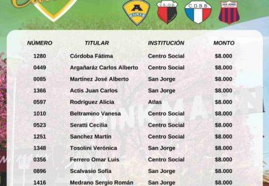 Gustavo Tevez fue el ganador del primer premio del sorteo mensual de «Rifa de la Ciudad»