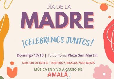 Día de la Madre – Música en vivo y regaloes esta tarde en Plaza San Martín