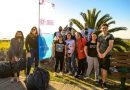 Jóvenes realizaron tareas de forestación y limpieza de playas en Miramar