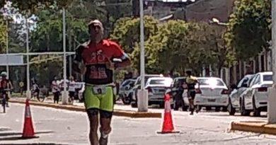 Juan Manuel Sada logró el 4* puesto en la General del Duatlón en San Marcos Sud