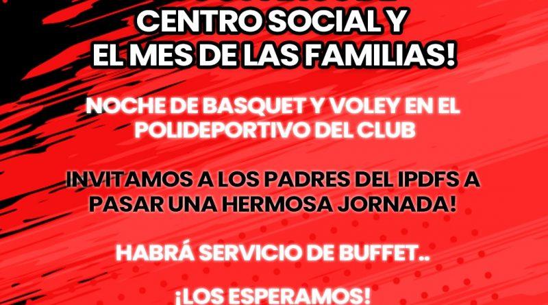 Centro organiza «Noche de Básquet, Voley y familias»