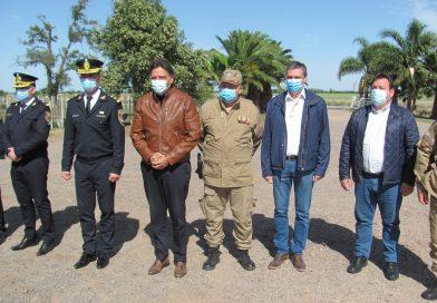 Mosquera, Derfler y Tevez inauguraron «Base Operativa» en Col. Milessi