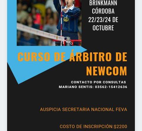 Centro Social organiza un «Curso de árbitro de Newcom»