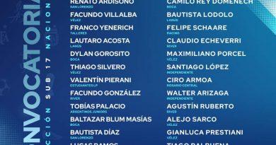 Bautista Scotta fue convocado por la Selección Nacional Sub 17