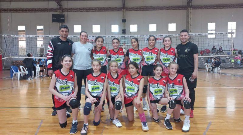 Voley: La Sub 13 de Centro clasificó a la «Copa Provincial»